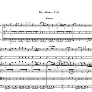 Orchester+Solisten-Noten